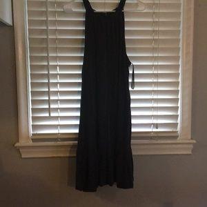 Loft charcoal dress